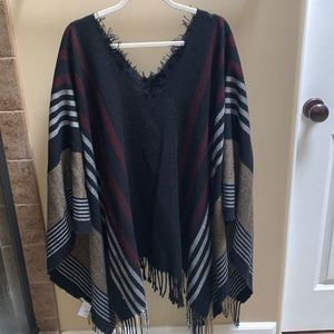 Free People Pull Over Poncho